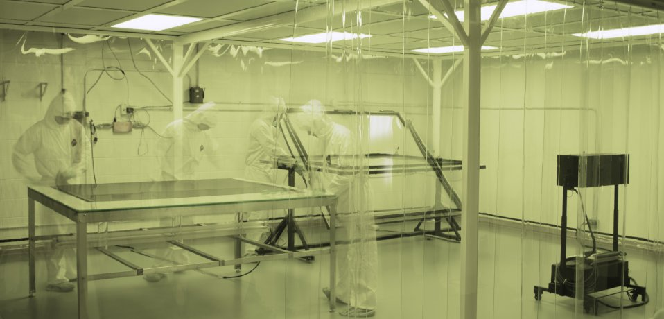 10,000 class clean room